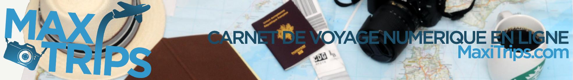 Carnet de voyage numérique (scrapbooking numérique) & blog voyage