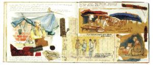 illustration 2 carnet de voyage numérique scrapbooking MaxiTrips