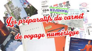Tutoriel carnet de voyage numerique scrapbooking