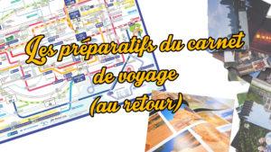 Tutoriel carnet de voyage numérique scrapbooking, préparation de vos fichierx