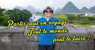 Partir seul en voyage : tout le monde peux le faire