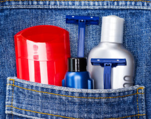Basic skin care cosmetic products and accessories for men